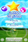 Android Bubble Sky Blast FREE screenshot 1/4