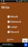 Random Synonym Quizzes screenshot 1/3