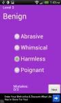 Random Synonym Quizzes screenshot 3/3
