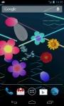 Spray Flowers LWP screenshot 4/6
