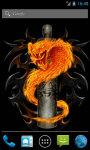 Fire snake Live Wallpaper screenshot 1/4
