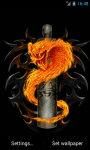 Fire snake Live Wallpaper screenshot 2/4