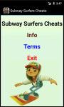 Subway Surfers Cheats N Tricks screenshot 2/4