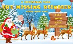 Free Hidden Object Games - The Missing Reindeer screenshot 1/4
