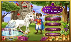 Free Hidden Object Games - The Kings Unicorn screenshot 1/4