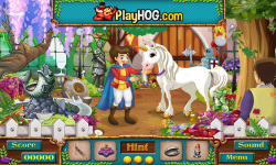 Free Hidden Object Games - The Kings Unicorn screenshot 3/4