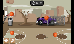 Basketball Game 1 minute screenshot 2/4