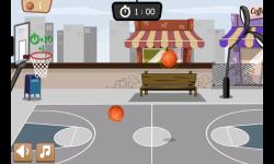 Basketball Game 1 minute screenshot 3/4