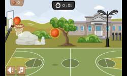 Basketball Game 1 minute screenshot 4/4