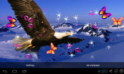3D Eagle Live Wallpaper screenshot 4/5