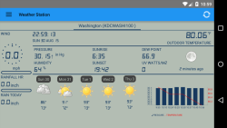Stazione meteo excess screenshot 3/5