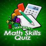 FreePlay Math Skills Quiz Lite screenshot 1/2