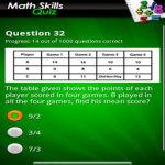 FreePlay Math Skills Quiz Lite screenshot 2/2