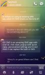 GO SMS Rainbow Way Getjar Theme screenshot 1/4