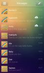 GO SMS Rainbow Way Getjar Theme screenshot 3/4