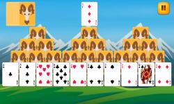 Tri Peaks Solitaire Fun screenshot 1/6