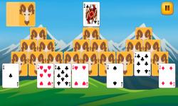 Tri Peaks Solitaire Fun screenshot 3/6