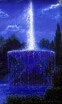 Blue Fountain Live Wallpaper screenshot 1/3