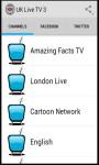 UK TV 3 screenshot 1/4