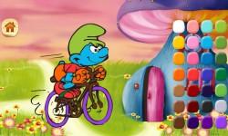Smurfs play coloring screenshot 4/5