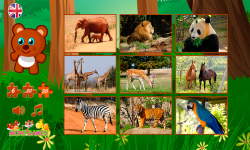 Puzzles with animals screenshot 2/6