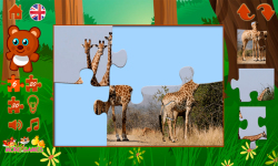 Puzzles with animals screenshot 3/6