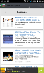 Sport News and magazines RSS reader screenshot 2/3