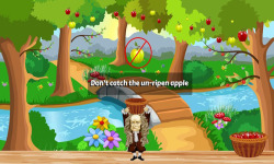 Catch the Apples Newton Game screenshot 3/3