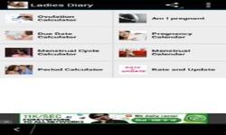 Ladies Diary screenshot 2/6