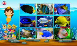 Puzzles with small fishes screenshot 2/6