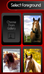 Zipper Lock Screen – Horses screenshot 3/6