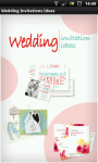 Wedding Invitations Ideas screenshot 1/6