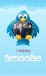 Coldplay Tweets screenshot 1/3