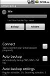 Call Log Back Up Pro screenshot 1/3