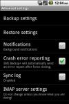 Call Log Back Up Pro screenshot 3/3