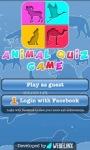 Animal Quiz Game free screenshot 1/5