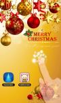 Christmas gold live wallpaper screenshot 2/3