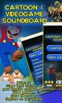 Cartoon and Videogame Soundboard screenshot 1/4