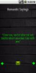 Romantic Sayings screenshot 1/1