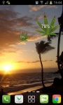 Marijuana Leaf HD Battery screenshot 2/5