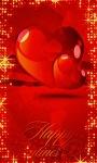 Red Valentine Live Wallpaper screenshot 1/3
