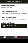 Muller Live Wallpaper screenshot 2/5