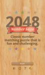2048 Number Saga Free screenshot 1/4
