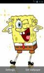Funny SpongeBob Live Wallpapers screenshot 2/3