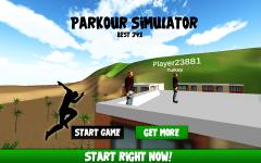 Parkour Simulator 3D 2015 screenshot 1/1