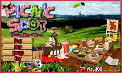 Free Hidden Object Games - Picnic Spot screenshot 1/4