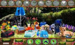 Free Hidden Object Games - Picnic Spot screenshot 3/4