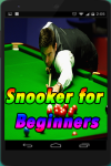 Snooker for Beginners screenshot 1/4