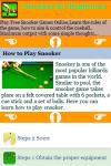 Snooker for Beginners screenshot 4/4