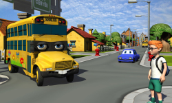 Talking School Bus Simulator screenshot 2/5